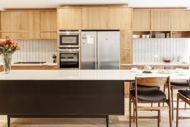It's back to the future with timber veneer.