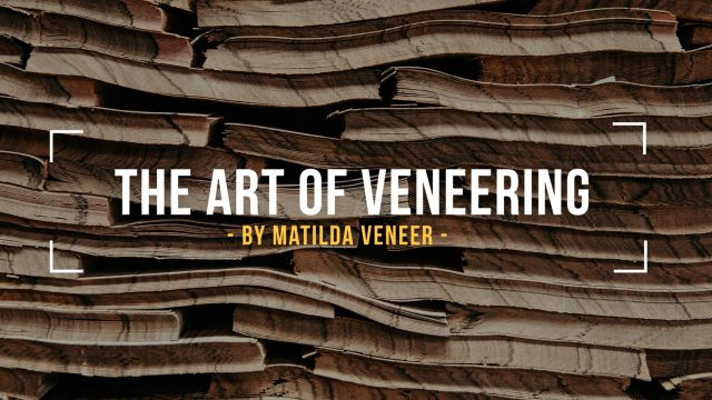 The Art of Veneering – a video blog